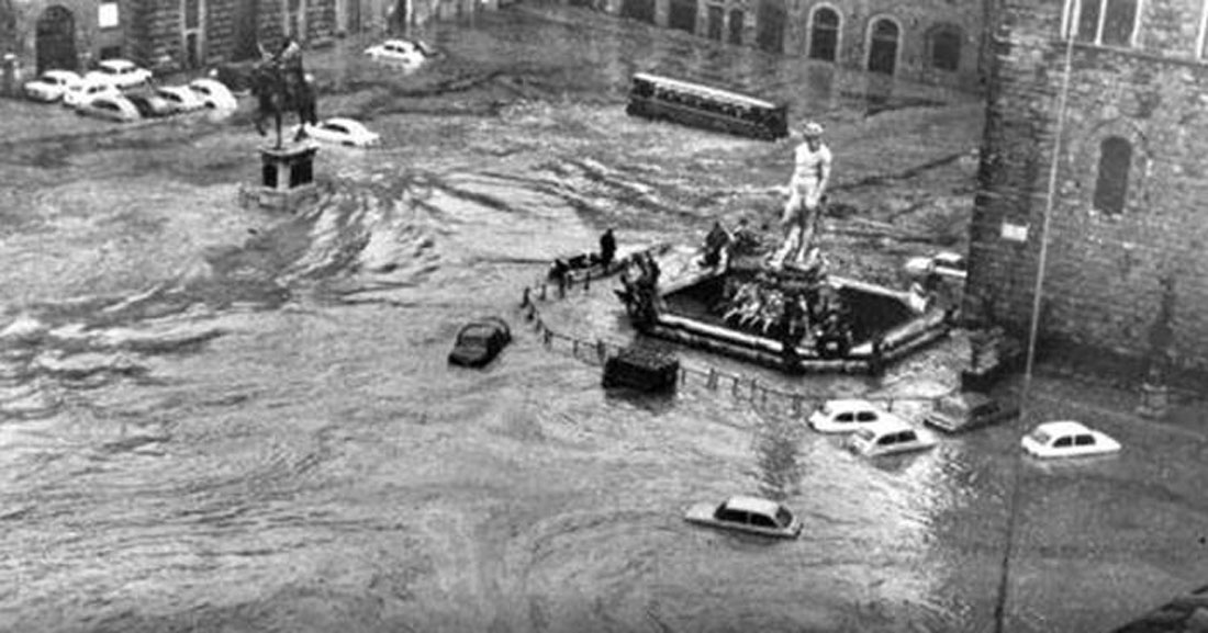 Memoria viva. L'alluvione di Firenze del 1966: è ora di prevenzione