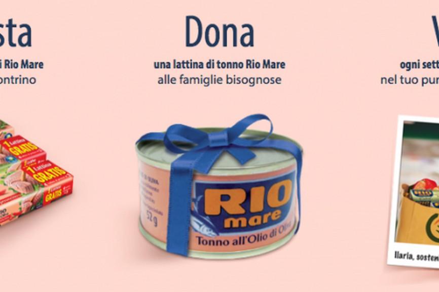 Dona & Vinci con #UnTonnoPerTutti! Rio Mare, però.