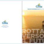 """Costa Crociere: """"Sea You Tomorrow – Rotta verso il futuro"""". Bilancio sociale"""