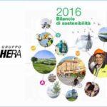 Hera: Il nostro bilancio di sostenibilità 2016… apre al valore condiviso.
