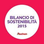 Auchan, il Bilancio di sostenibilità 2015
