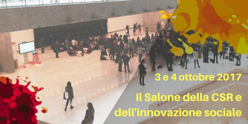 Salone della CSR e Innovazione sociale, sono aperte le iscrizioni!