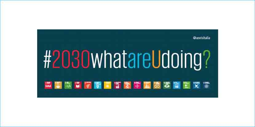 Prosegue la campagna #2030whatareUdoing?