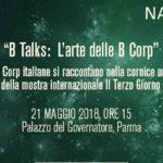 B Talks: L'arte delle B Corp, dalla nascita al cammino comune