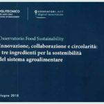 Osservatorio Food Sustainability sulla Sostenibilità del Sistema Agroalimentare
