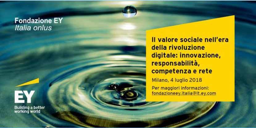 Creare valore sociale nell'era della rivoluzione digitale – 4° Forum EY sul Terzo Settore