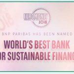Bnp Paribas migliore banca al mondo per la finanza sostenibile per il 2018