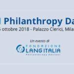 Filantropi da tutto il mondo riuniti nel VI Philanthropy Day