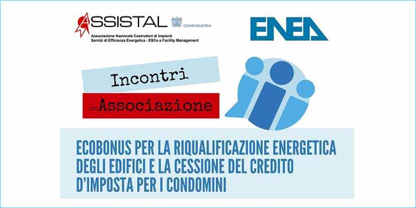 Ecobonus per la riqualificazione energetica degli edifici