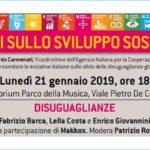 """Dialoghi sullo sviluppo sostenibile –  """"Disuguaglianze"""""""