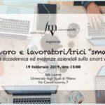 """Lavoro e lavoratori/trici ''smart"""" - con Fondazione Marco Vigorelli"""