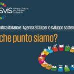 La politica italiana si è confrontata sull'Agenda 2030