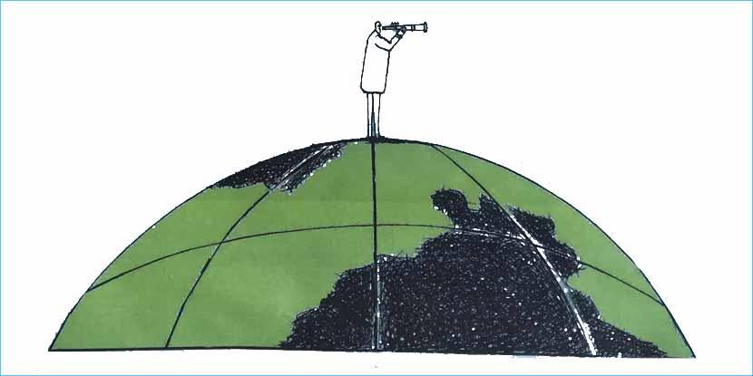 Noi nativi della sostenibilità in lotta per la Terra di domani