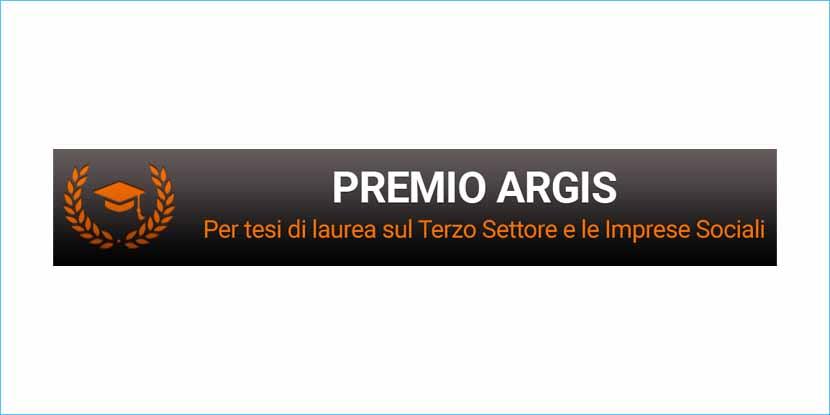 Premio Argis per tesi di laurea sulle Imprese Sociali. Rinnovato per il 2020