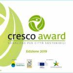Al via Cresco Award: città e comuni al centro della sfida per lo sviluppo sostenibile