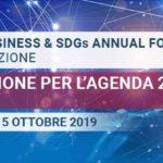 Italian Business and SDGs Annual Forum, con Global Compact Network Italia