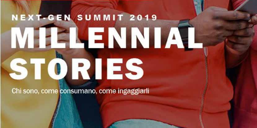 Next – Gen Summit, Millenial stories – 30 ottobre