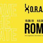 Evento di lancio di O.R.A, con Fondazione Unipolis