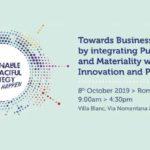 Integrazione tra Modelli di Business, Strategie Sostenibili e Corporate - 8 ottobre