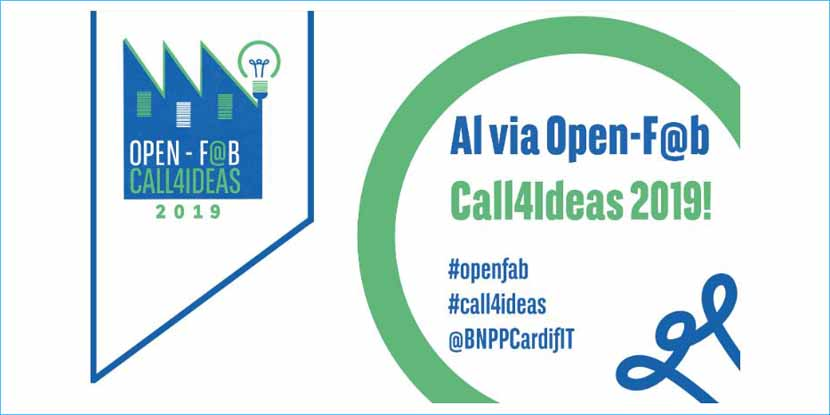 Open-F@b Call4Ideas 2019 di BNP Paribas Cardif – entro il 28 ottobre