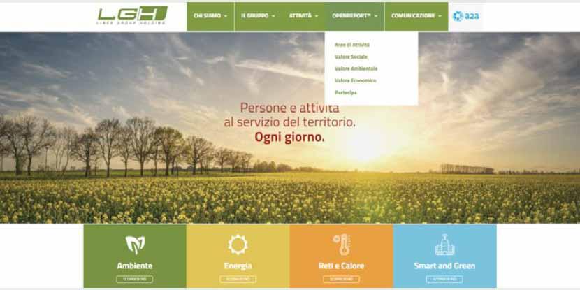 LGH: «OpenReport, uno strumento per dialogare con stakeholder e territorio»