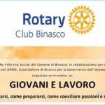 Giovani e lavoro. Cosa aspettarsi, come prepararsi - con Rotary Binasco e Argis - 19 ottobre