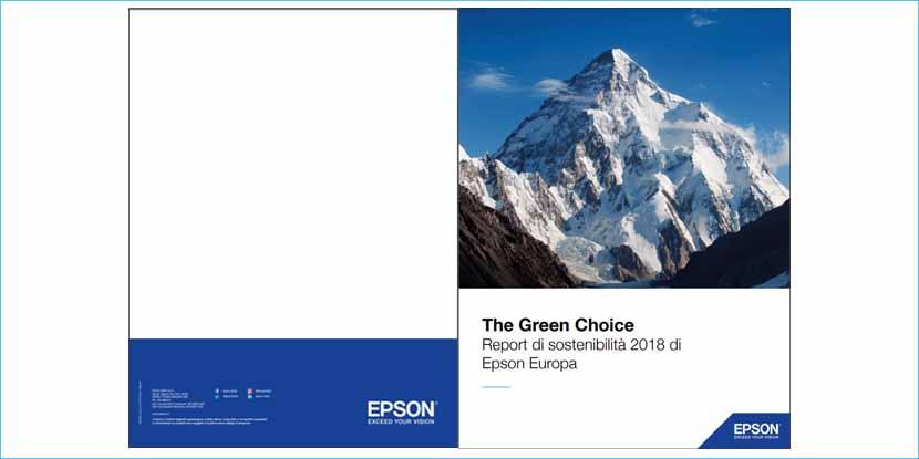 Epson presenta il Bilancio europeo di sostenibilità 2018