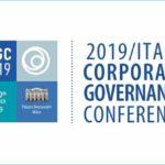 2019 Italy Corporate Governance Conference - 9 e 10 dicembre