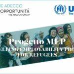Presentazione del progetto MEP, con Fondazione Adecco e UNHCR