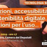 Tecnologia Solidale 2019. Istituzioni, accessibilità e sostenibilità digitale. Istruzioni per l'uso...