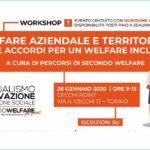 Welfare aziendale e territoriale: reti e accordi per un welfare inclusivo - Seminario