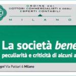 La società benefit: peculiarità e criticità di alcuni aspetti - Convegno Assobenefit