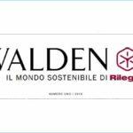 Il primo numero di Walden, il mondo sostenibile di Rilegno