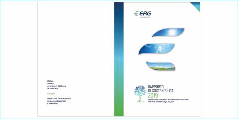 Erg presenta il rapporto di Sostenibilità 2019