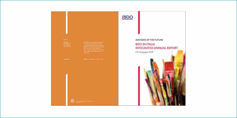 BDO in Italia. Integrated Annual Report 2019