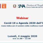 Covid-19 e agenda 2030 dell'ONU. Come imboccare il sentiero della resilienza trasformativa