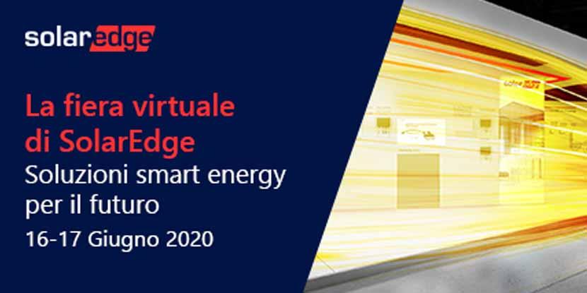 SolarEdge, fiera virtuale – 16 e 17 giugno