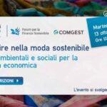 Investire nella moda Sostenibile - Seminario online
