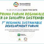 Primo Forum di Regione Lombardia per lo Sviluppo Sostenibile
