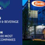 Barilla: 1^ nel settore Food&Beverage e l'11^ nella Top 100 delle aziende più affidabili al mondo