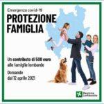 Protezione Famiglia: il contributo di Regione Lombardia per le famiglie lombarde