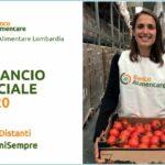 Banco Alimentare Lombardia, il Bilancio Sociale 2020