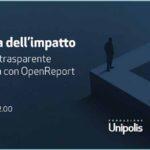 Il dilemma dell'impatto: Misurazione trasparente e partecipata con Open Report