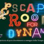 Escape Room, evento solidale per Dynamo Camp