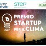 Premio Startup per il clima 2021